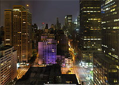 new-york city de nuit